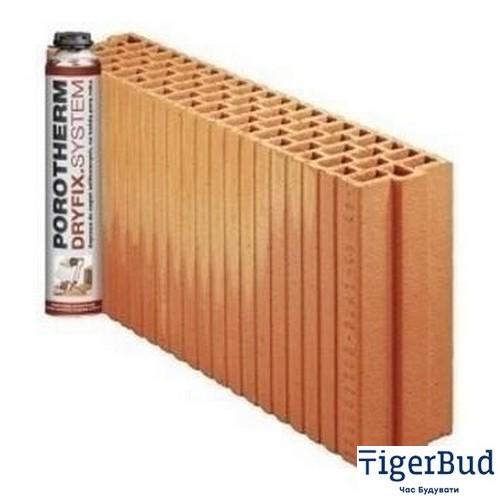Керамический блок Porotherm PTH 11,5 P+W Dryfix 110x498x249 мм