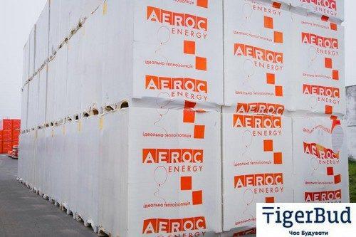 Газоблок AEROC D150 ENERGY (Березань)