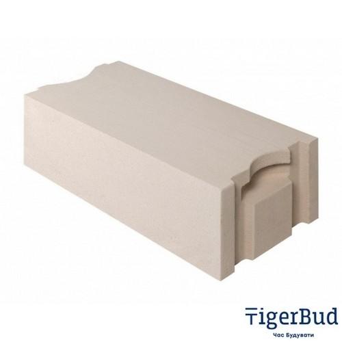 Газоблок AEROC D300 стіновий паз-гребінь (Березань)