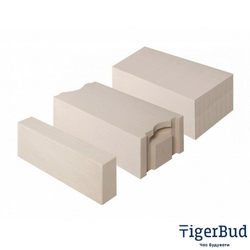 Газоблок AEROC D500 стеновой гладкий (Обухов)