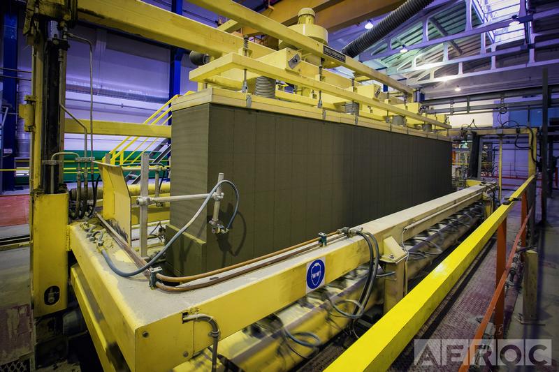 Производство газоблока