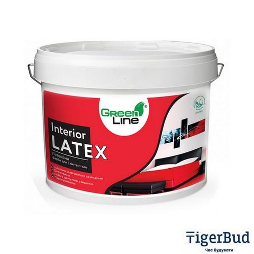 Интерьерная латексная краска для стен и потолков