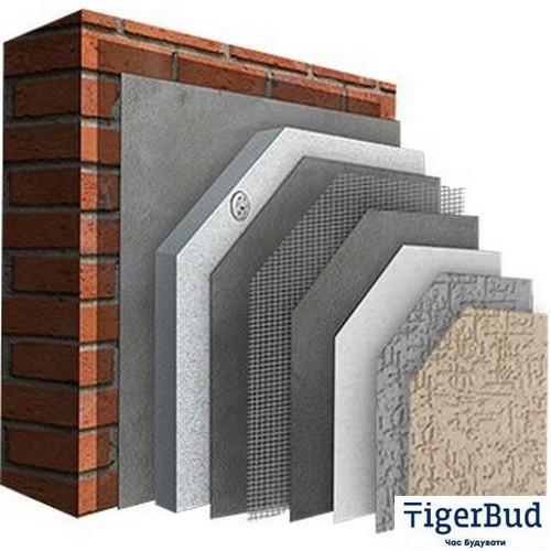 Система утепления фасада