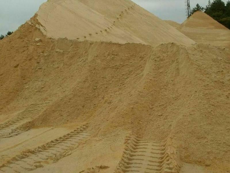 Песок навалом
