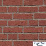 Клинкерная плитка ручной формовки Feldhaus Klinker R694 sintra carmesi