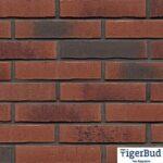 Клінкерна плитка ручної формовки Feldhaus Klinker R754 vascu carmesi carbo