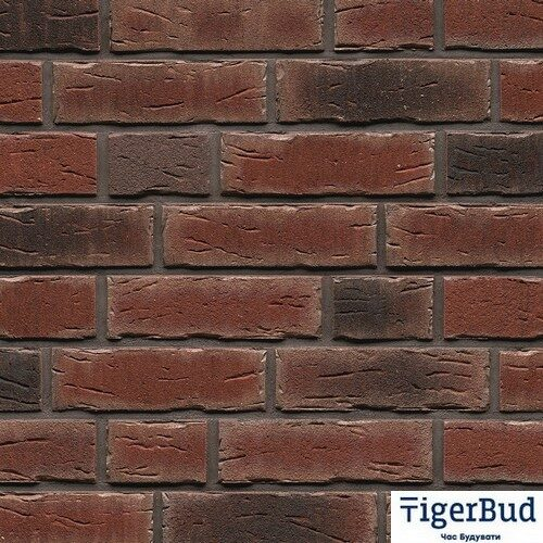 Клинкерная плитка ручной формовки Feldhaus Klinker R663 sintra cerasi nelino